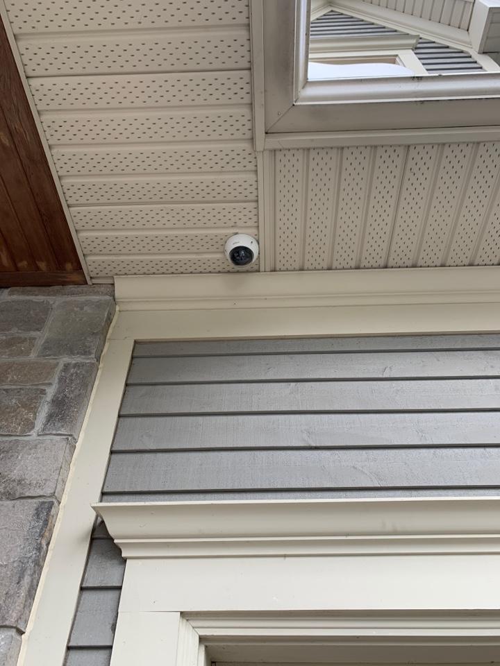 Mississauga, ON - Installation of CCTV security camera system