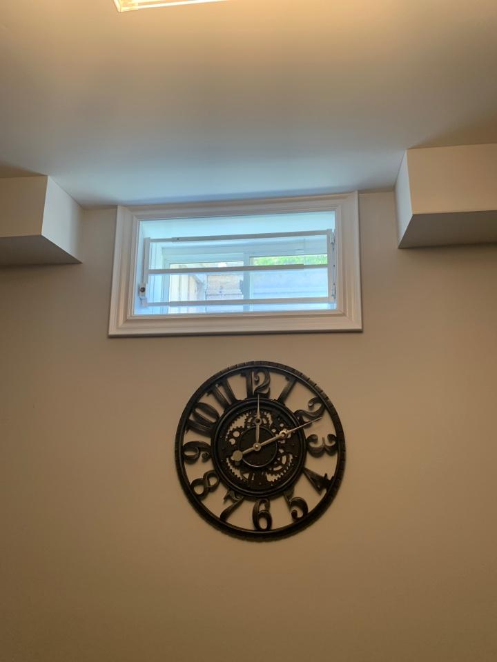 Basement window bars