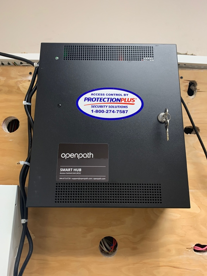 Installation of openpath access control system