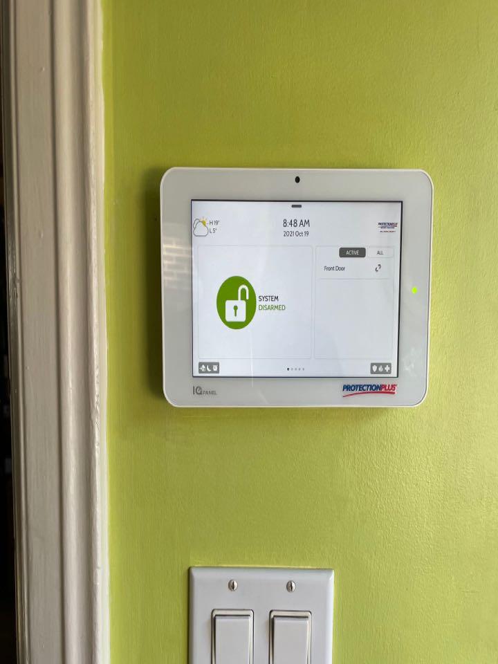 Qolsys IQ Panel 2+ installation