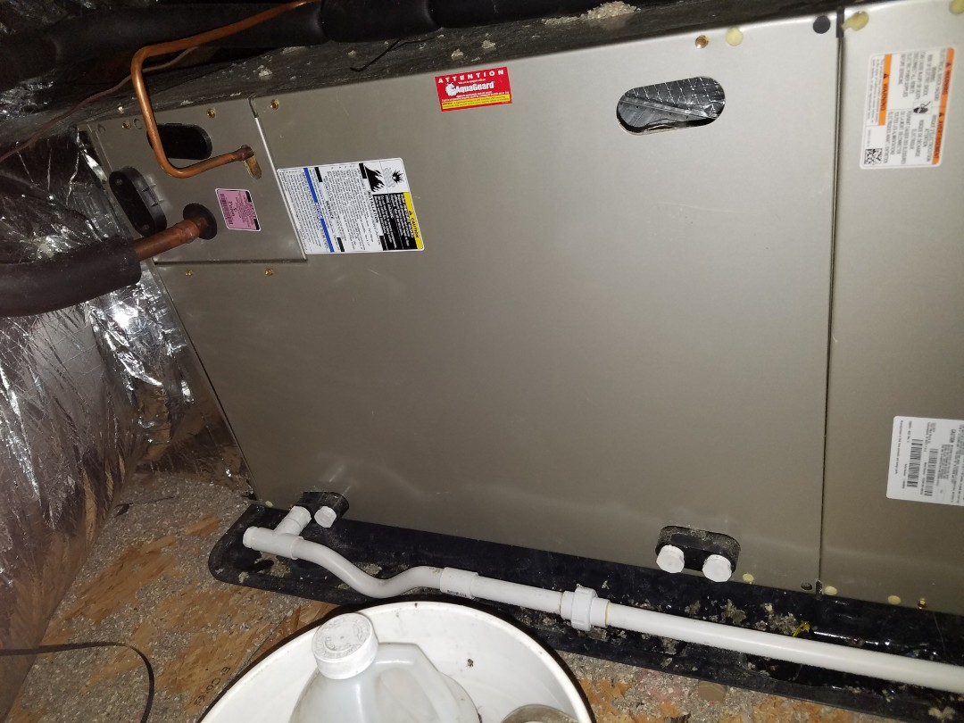 Billerica, MA - Tuning up carrier central air conditioning