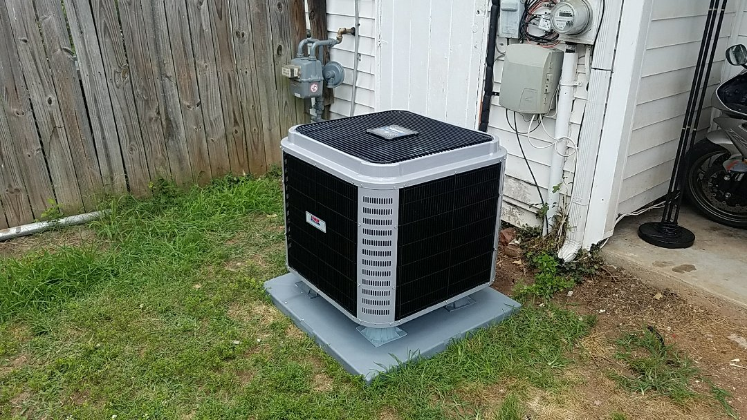 Installed new HEIL AC system.