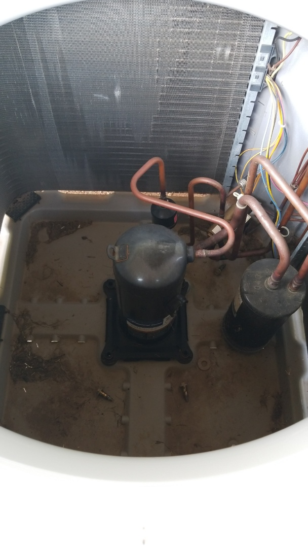 Replacing compressor in 2 Ton heatpump!