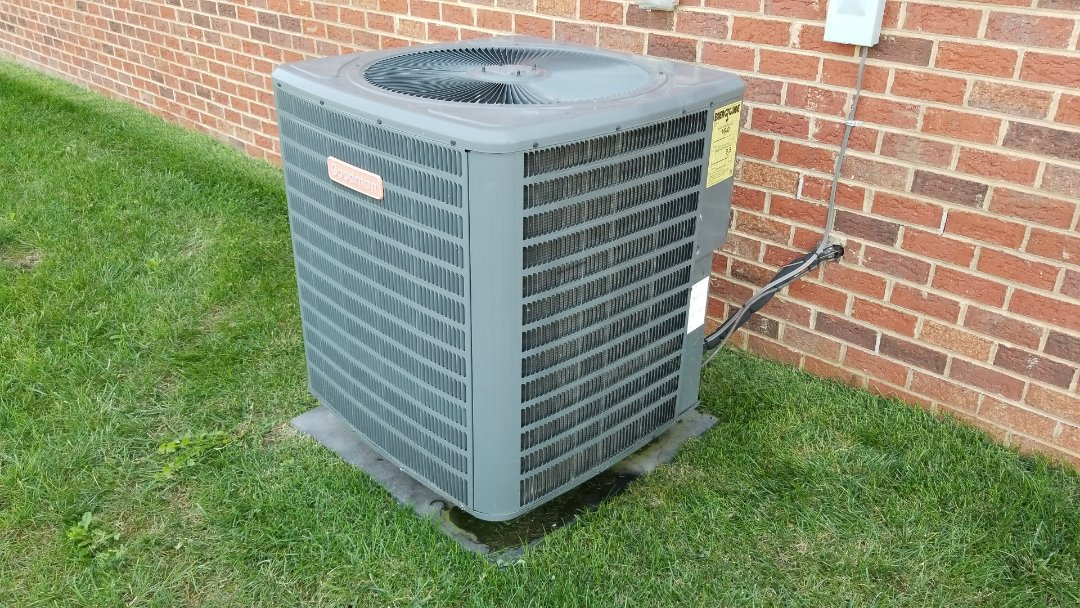 Fall tune-up on this Goodman heat pump. Fall is just about here so make sure to take advantage of our limited time offer, $74 precision tune-up.
