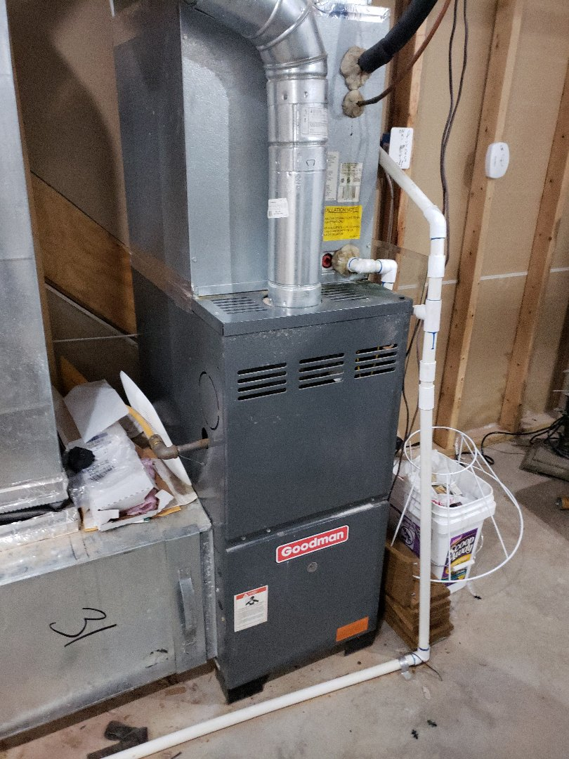 Replaced pressure switch and furnace control board on a 80% Goodman!