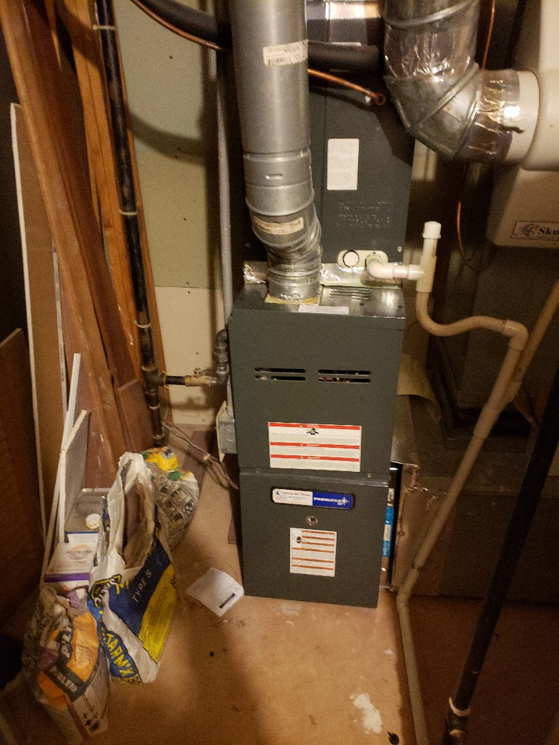 Replacing a 2 stage gas valve on a Goodman furnace!