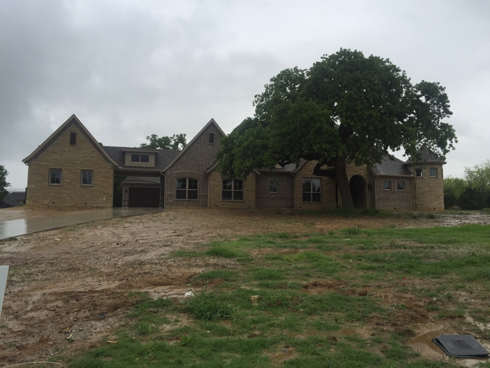 Oak Point, TX - Roof and property inspection from hail storm