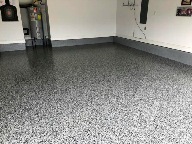 Henderson, NV - Have an unattractive garage floor that your looking to remodel? Epoxy Flake will give your garage an enticing view that you will love! Provided in countless color combinations at your choosing!!