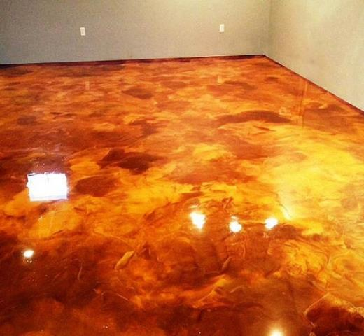 Henderson, NV - Take entertaining your guests to the next level with a beautifully unique Metallic Marble floor!!! Durability and decor are all wrapped up in one system!! Call today for your next marble floor remodel!