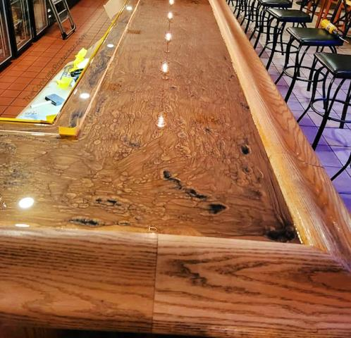 Las Vegas, NV - This Metallic Marble Epoxy countertop looks fantastic! Las Vegas Concrete Decor created a masterpiece with this one!! I love the look, and the quality is perfect! Every penny was well spent on this project! If you are looking for something unique and beautiful, I recommend Las Vegas Concrete Decor for the job!