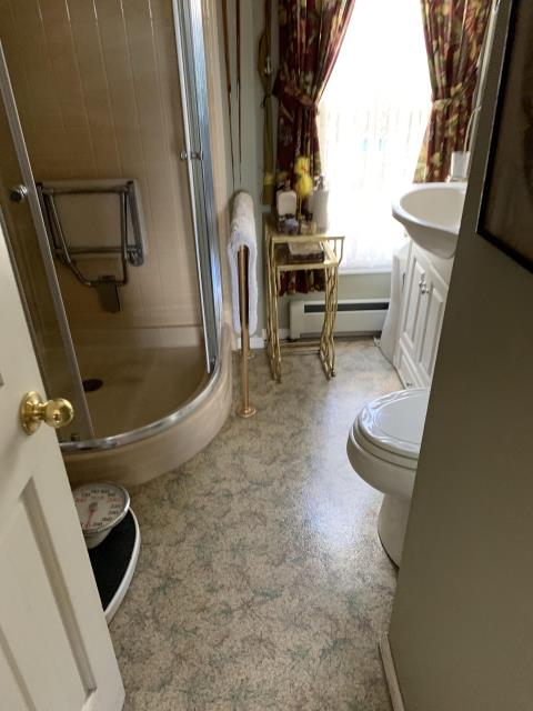 Cripple Creek, CO - We get the privilege of making this bathroom safer by installing a new Kohler Walk-In Bath. The hydrotherapy will make this a space for her to relax and feel rejuvenated.