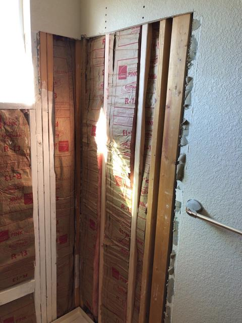 Thornton, CO - Removal of old wall tile and tub in preparation for a new Kohler Shower System