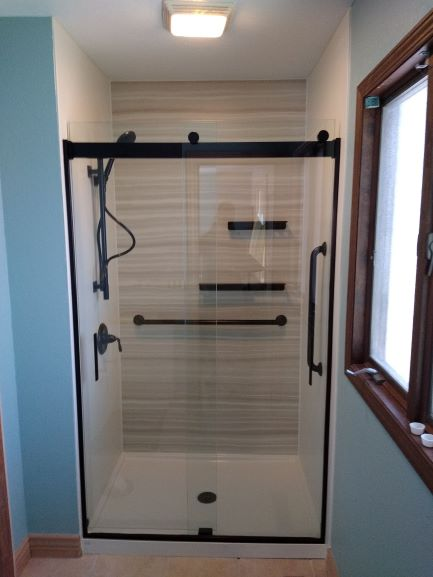 Cripple Creek, CO - One of our hard working sales representatives is driving out to Cripple Creek to review the benefits of a Kohler LuxStone walk in shower. We are anticipating another satisfied customer after they see the quality of our product!