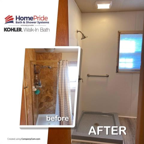 Cheyenne, WY - Total transformation in this bathroom!