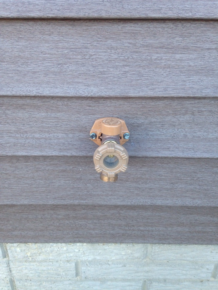 Varna, IL - Install outside faucet