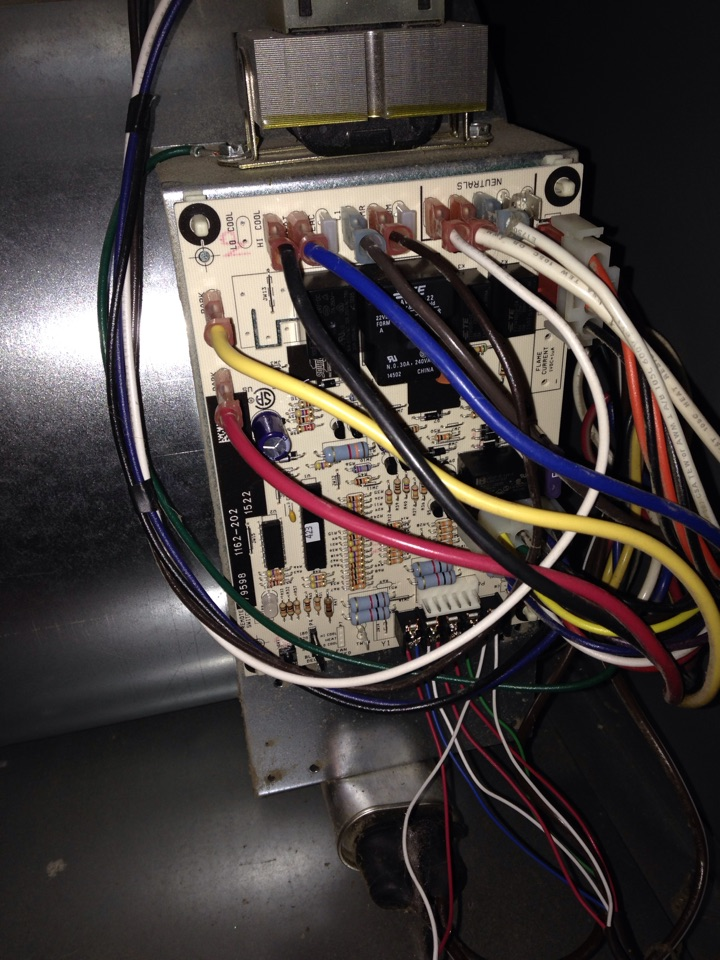 Cornell, IL - Furnace has no heat replacing control board.