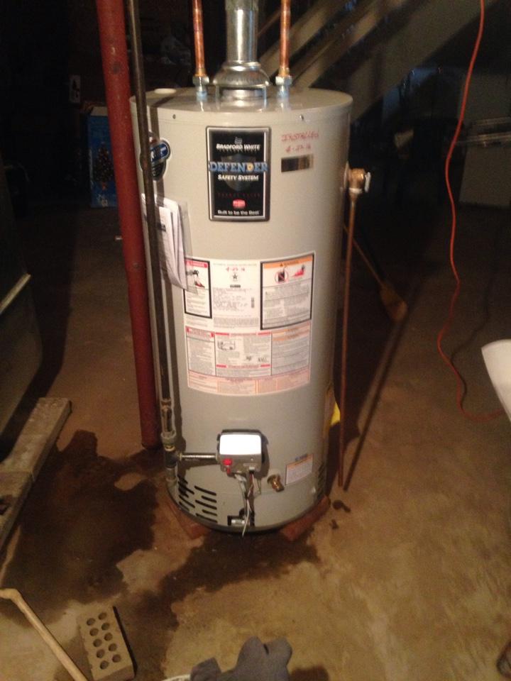 Magnolia, IL - Install water heater