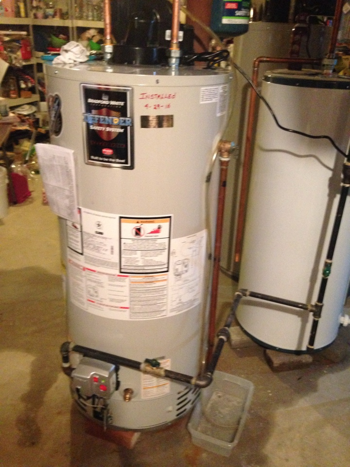 Sheridan, IL - Install water heater