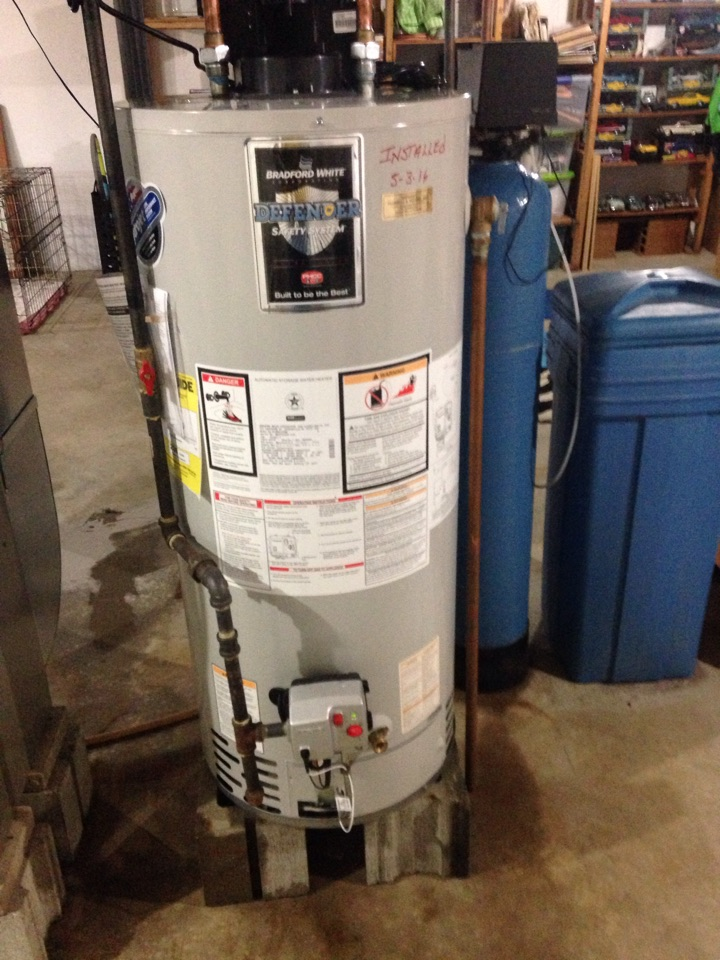 Lostant, IL - Install water heater