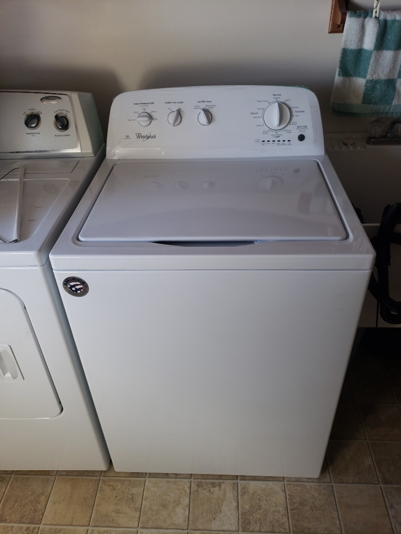Installing a new washer