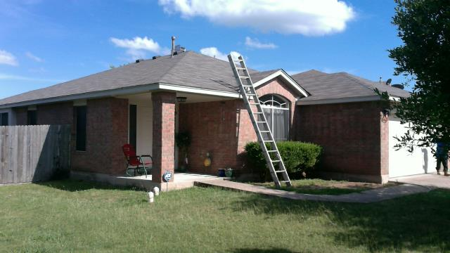 Just completed a re-roof in Pflugerville