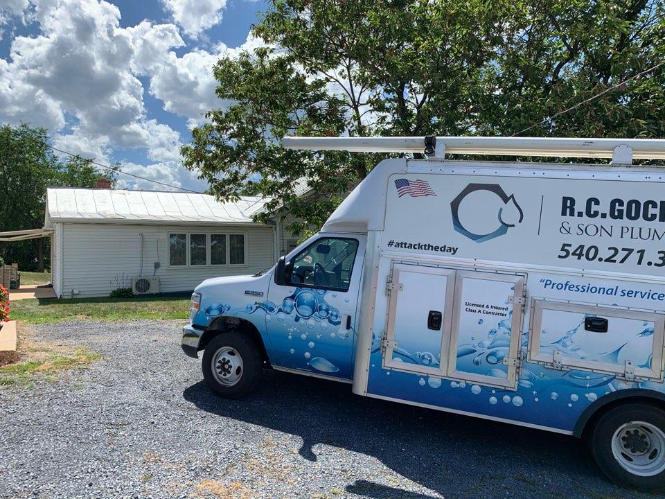 Stanley, VA - Install new ice maker line
