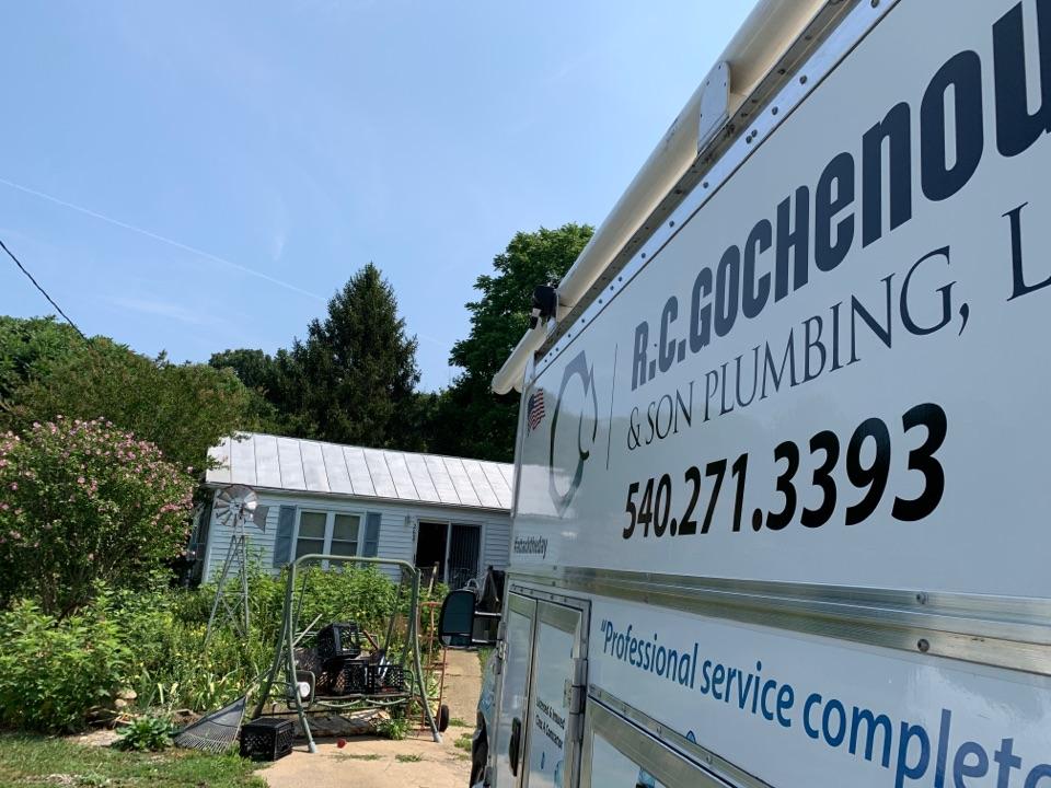 Shenandoah, VA - Install new kitchen faucet.
