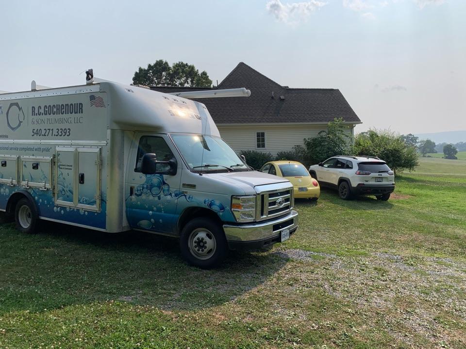 Luray, VA - Service water heater and repair leak