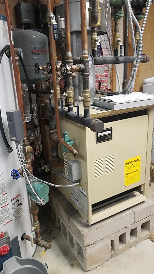 Plainview, NY - Installed new pressure reducing valve on boiler