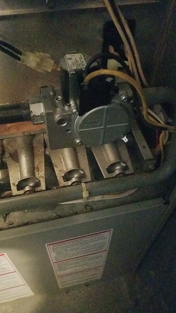 Smithtown, NY - Replaced old gas Cox and new gas valve on furnace and water heater