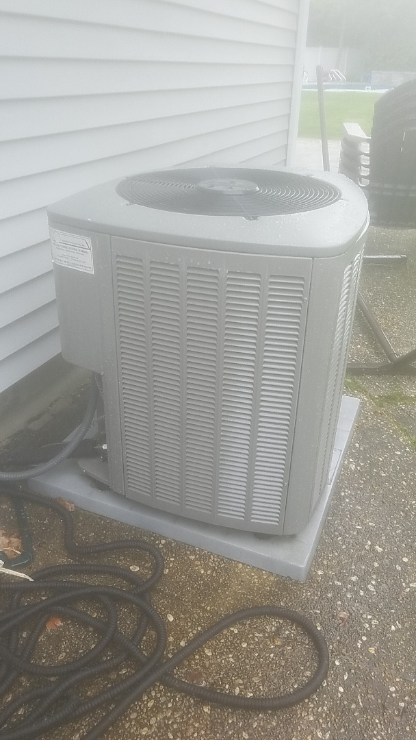 Old Bethpage, NY - Performed ac pm on a lennox split in  bethpage