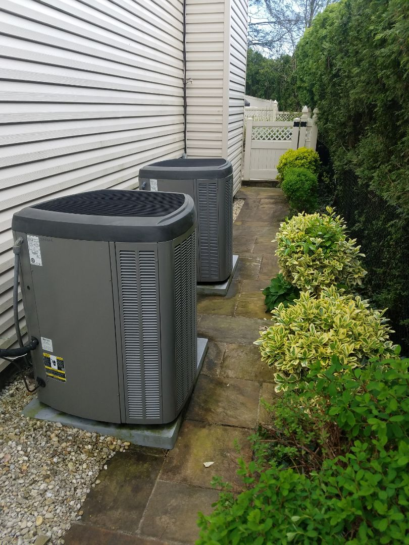 Albertson, NY - 2-Lennox XC-21-036 Air Conditioning Maintenance  Performed