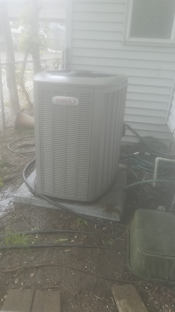 Lindenhurst, NY - Performed ac pm on a lennox split in lindenhurst