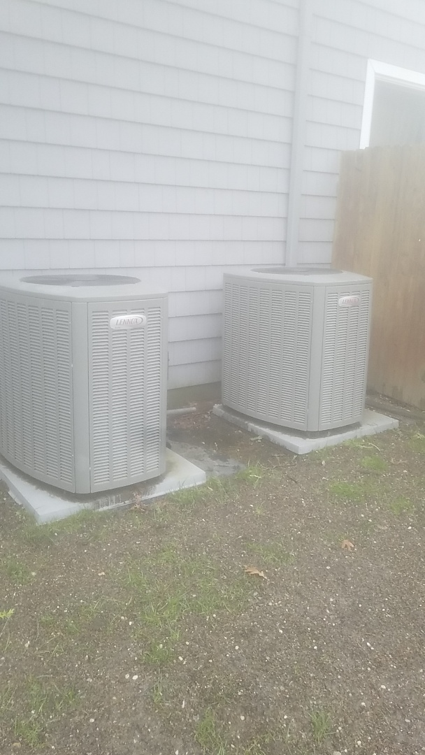 Dix Hills, NY - Performed ac pm on a lennox split in east islip