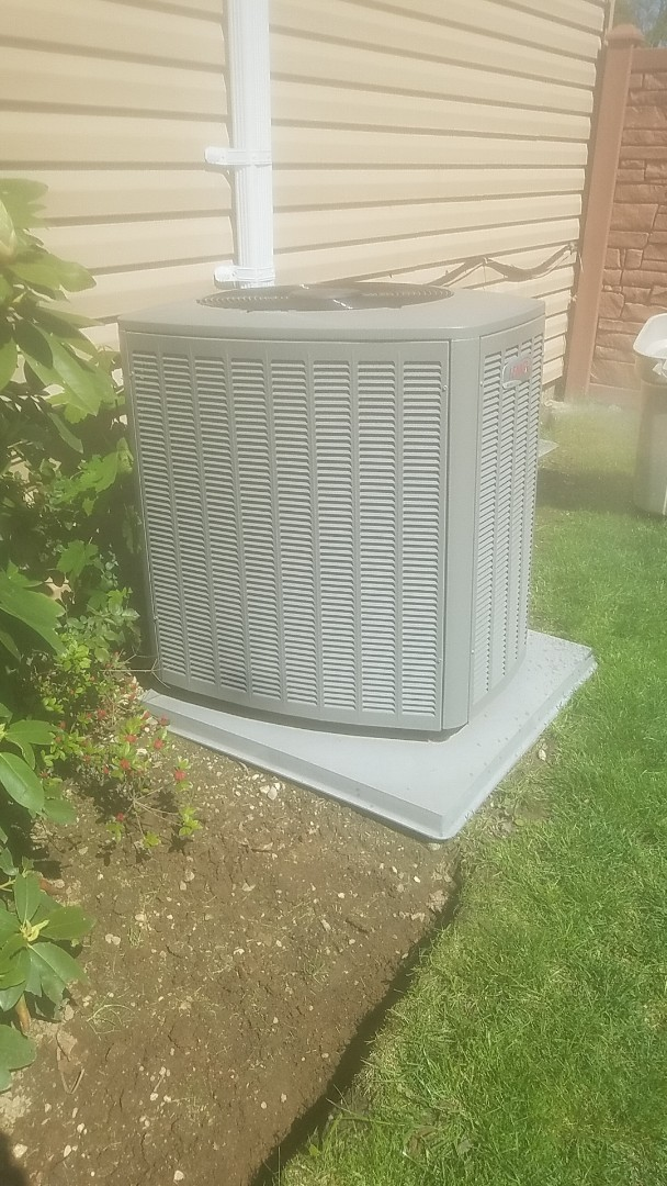 Amityville, NY - Completed ac pm on a lennox split in amityville