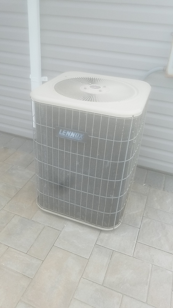 Performing ac pm on a lennox split in massapequa