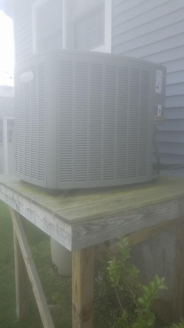 Seaford, NY - Completed ac pm on a lennox split in Babylon