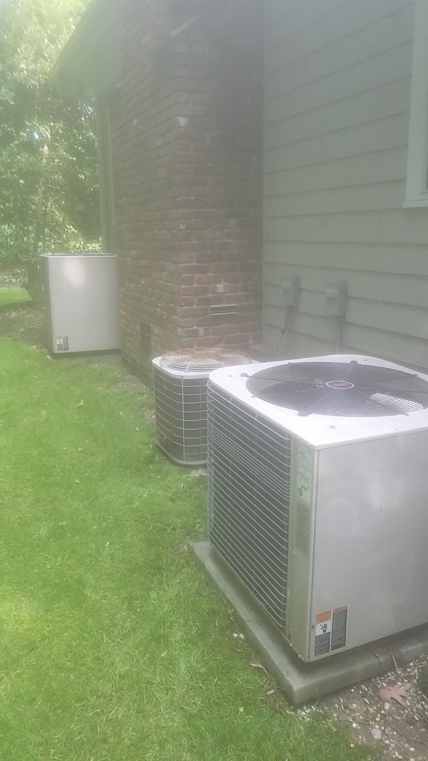 Seaford, NY - Completed ac pm on 3 Lennox split in rosylin