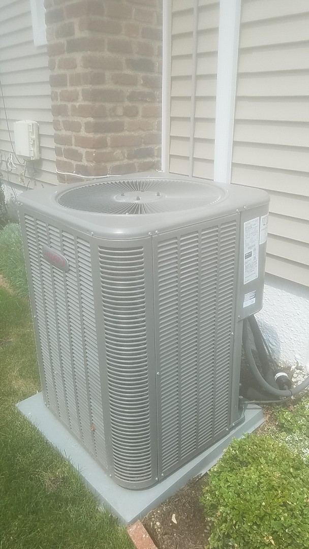 Amityville, NY - Completed ac pm on a weather king  in massapequa