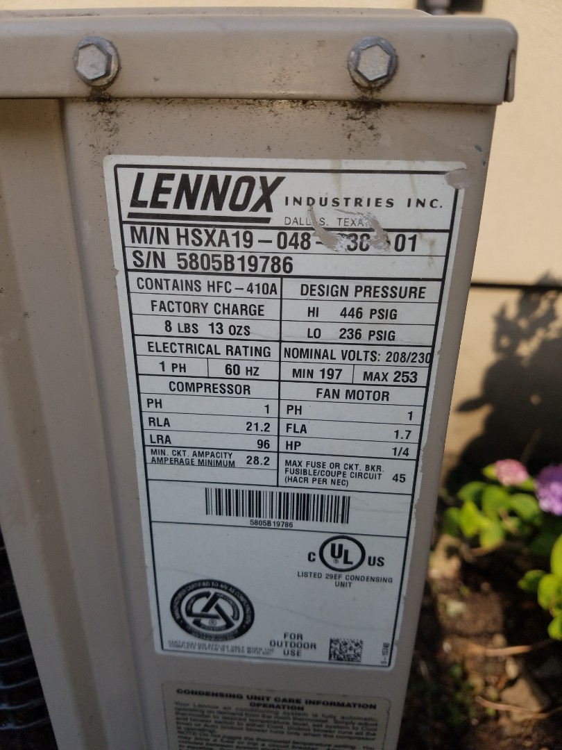 Performed Air Conditioning Service