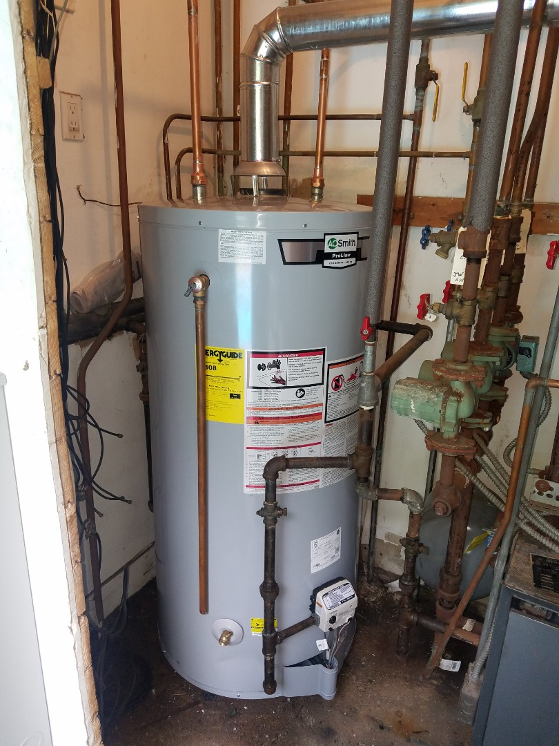 Great Neck, NY - A.O. Smith Domestic Hot Water Tank Replacement