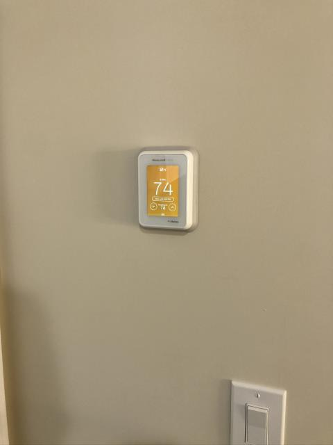 Completed Installation of Honeywell T10 Lyric Control system for the Tramutolo family in Massapequa.