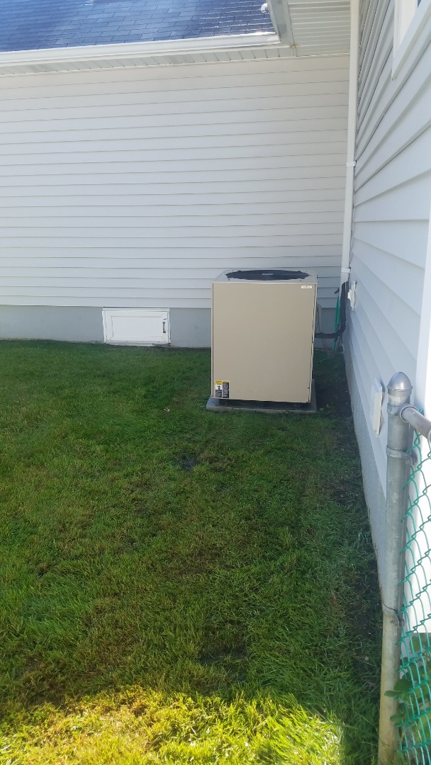 Performed ac pm inspection on r22 lennox equipment  Installed merv 11 healthy climate air filter
