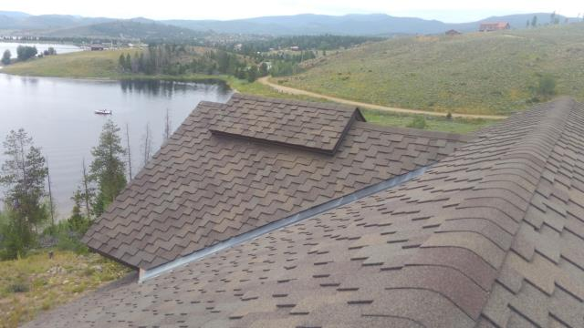 Re-seal Low Slope Valley Flashing and Install Ridge Vent Flashings.