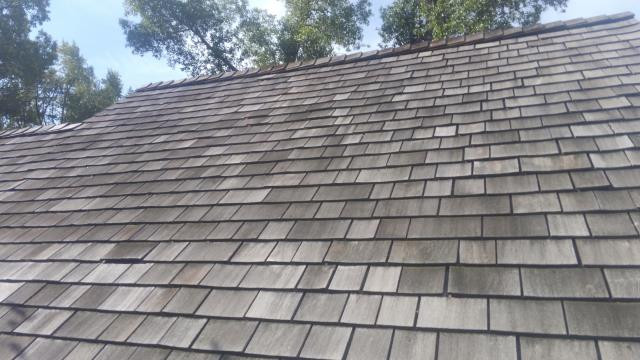 Replace Missing Shake with New Cedar Shingles