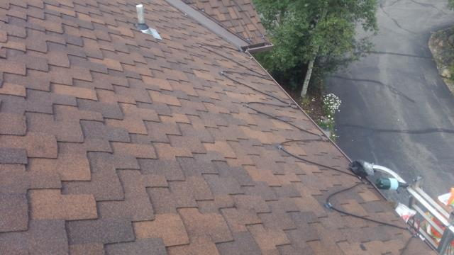 "Reroof  with GAF Grand Canyon ""Lifetime"" Shingles."