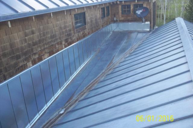 water damaged wood siding repair.  Installed S hook metal wall panels.