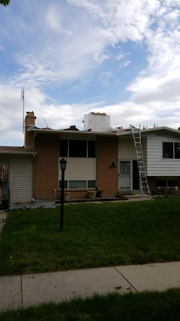 Salt Lake City, UT - New GAF TPO roof.