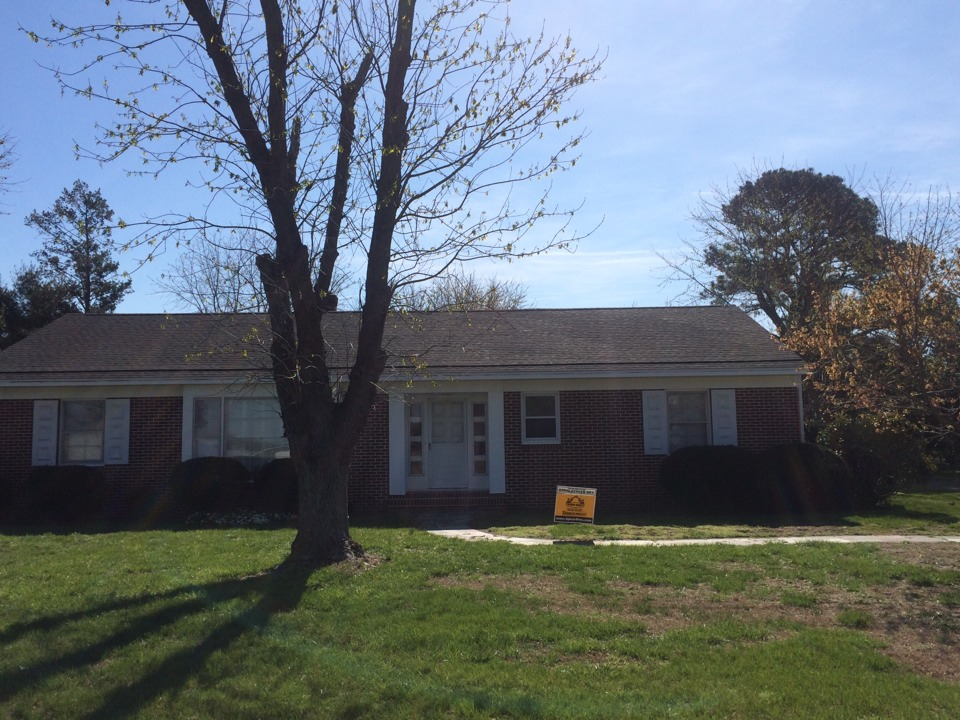 Bethel, DE - Spicer Bros. Construction roofing job. Single layer shingle removal. Installed new GAF Timberline American Harvest Appalachian Sky shingles. Home is located in Bethel, De.