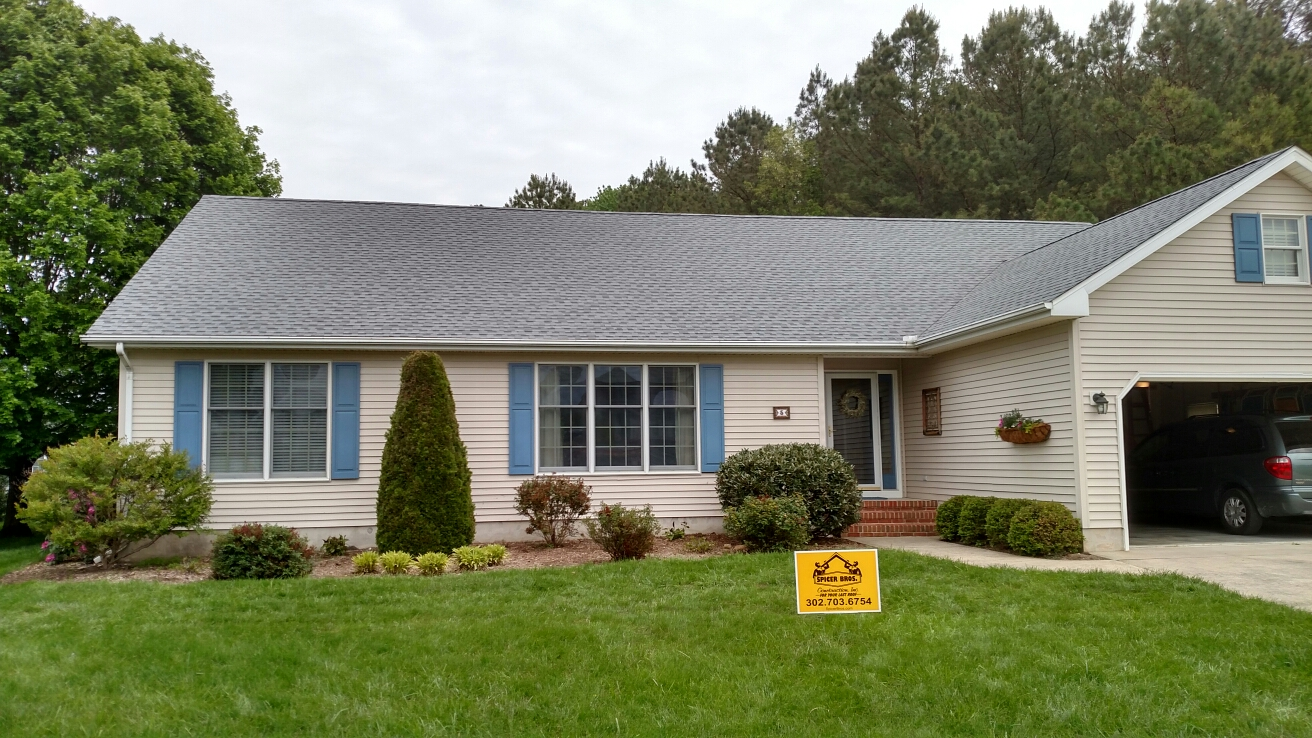 Lewes, DE   Another New Roof Installed After Removing The Old Shingles By  Spicer Bros
